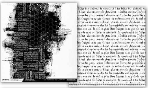 Papiers Techniques N&B - feuille 4