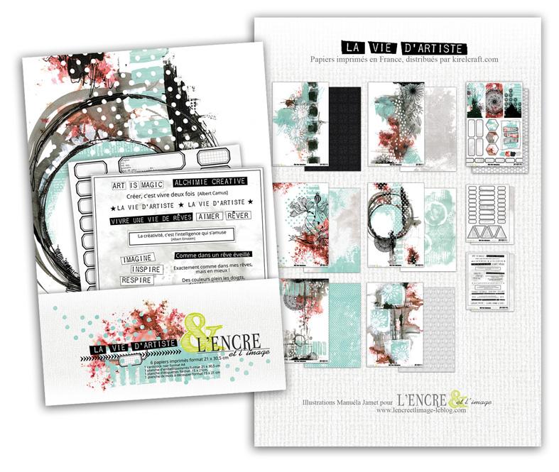 000 Collection complète - Vie d'artiste - lencreetlimage 3