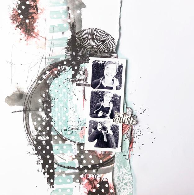 Page vie d'artiste Au Naturel - 1