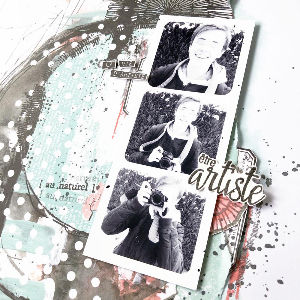 Page vie d'artiste Au Naturel - 2