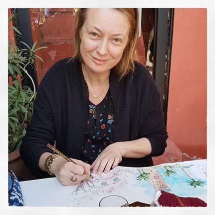 Portrait Gwen couleur