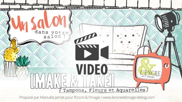 Entete M&T aquarelle et fleurs video