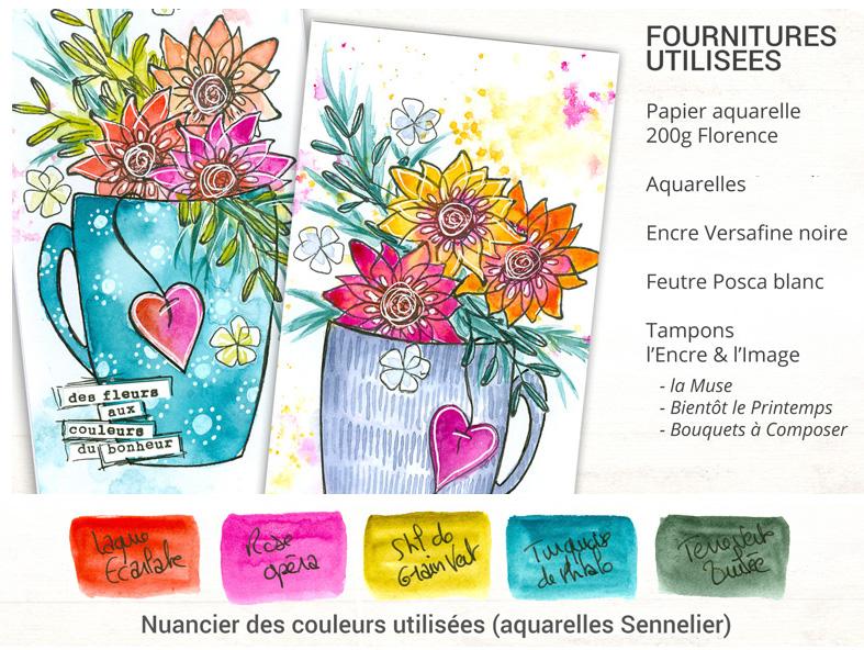 M&T tasse fleurie - etape 0