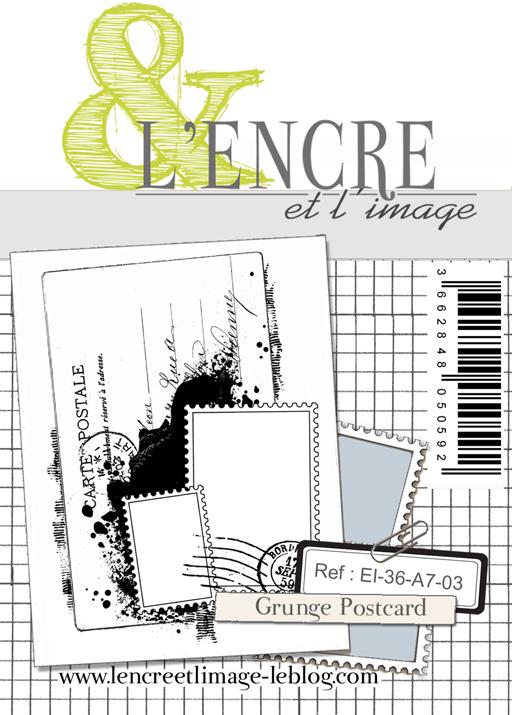 lencreetlimageEI-36-A7-03 Grunge Postcard