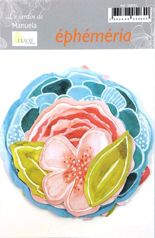 JARD01 lencreetlimage die-cuts fleurs pckg